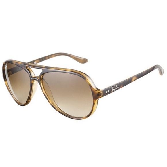 Ray-Ban RB4125 Cats 5000 Polarized Sunglasses